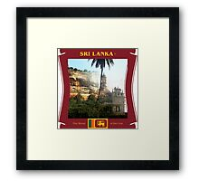 Sri Lanka - The Blood of the Lion Framed Print