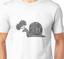 The Blooming Snail Unisex T-Shirt