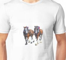 Working Clydesdales Unisex T-Shirt