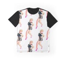 Courtney Act print Graphic T-Shirt