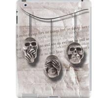 Skull Triad iPad Case/Skin