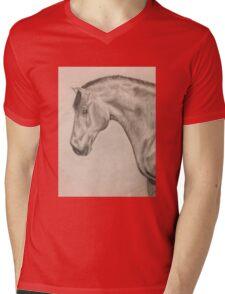 Spanish Warmblood Mens V-Neck T-Shirt