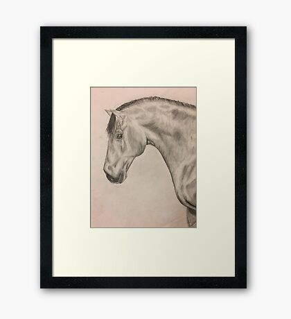 Spanish Warmblood Framed Print