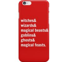 Gotta Get Back to Hogwarts! iPhone Case/Skin