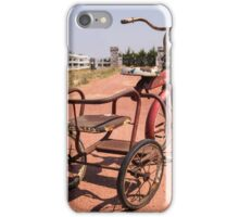 Rusty Tricycle iPhone Case/Skin