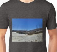 The Blue Ridge Mountains and Valley Unisex T-Shirt