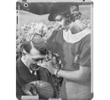motherly love, retro collage iPad Case/Skin