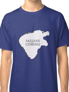 Saiyans Are Coming Classic T-Shirt