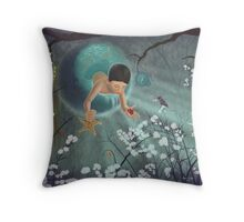 Keepsakes of the Ocean - Pillows & Totes Throw Pillow