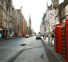 Royal Mile (Edinburgh) by dyanera