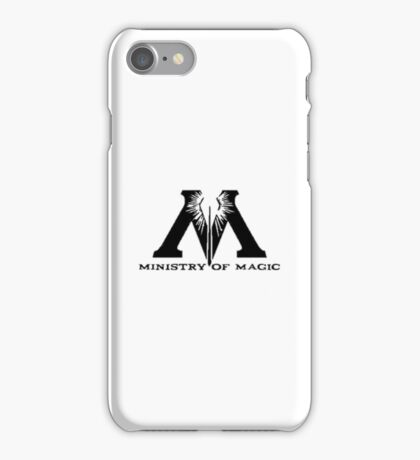 Ministry Of Magic  iPhone Case/Skin