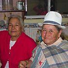 Grandmas At Carnaval by Al Bourassa