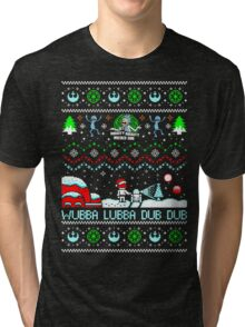 Rick and Morty Sweater Tri-blend T-Shirt