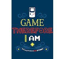 I Game Photographic Print