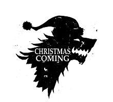 Funny Christmas Is Coming Holiday Birthday Gift Shirt Photographic Print