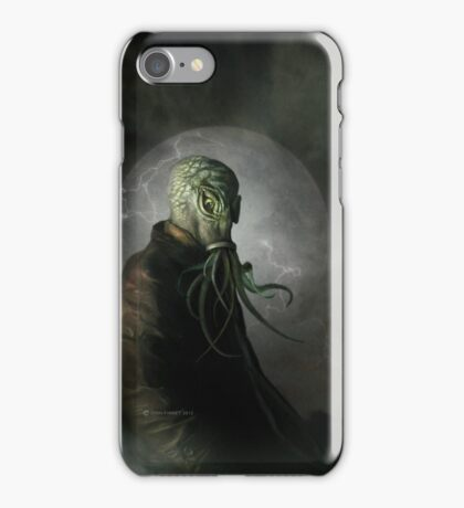 CTHULHU IS WATCHING iPhone Case/Skin