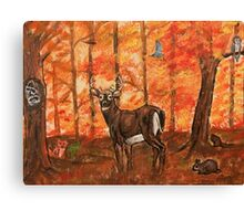 Fall Greetings Canvas Print