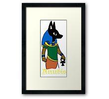 Anubis chibi Framed Print