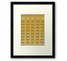 WAFFLE BUILDING (X-Scapes) Framed Print
