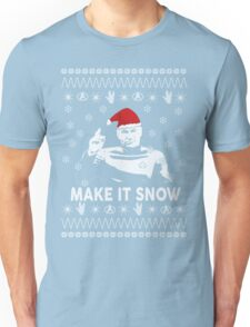 Make It Snow Star Trek Christmas Shirt Unisex T-Shirt