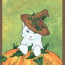 Pumpkin Cat by redqueenself