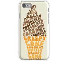 Ice Cream Typo iPhone Case/Skin
