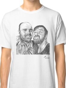 Karl Pilkington & Ricky Gervais - the world need more of em!! Classic T-Shirt