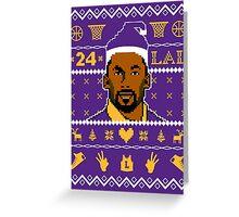 Kobe Christmas Greeting Card
