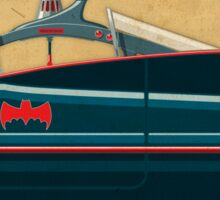 Batmobile 66 part II of III Sticker