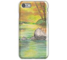Peaceful River Scene iPhone Case/Skin