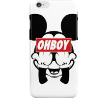 Ohboy iPhone Case/Skin