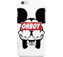Ohboy iPhone Case/Skin