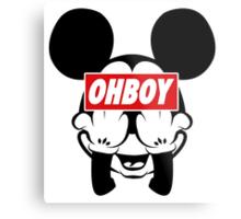 Ohboy Metal Print