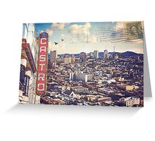 The City By The Bay - San Francisco, California Greeting Card