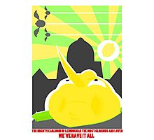 The Mighty Earldom of Lemongrab, the Most Glorious Photographic Print