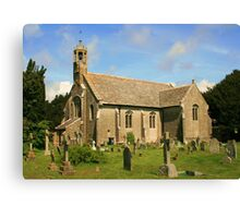 Holdenhurst Church Canvas Print