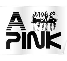 Apink,에이핑크,KPOP,logo vector art Poster