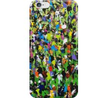 Race Meeting by Neil McBride iPhone Case/Skin