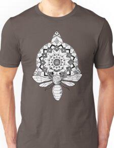 Bumble Bee Mandala Unisex T-Shirt