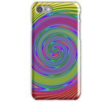 Round wave iPhone Case/Skin