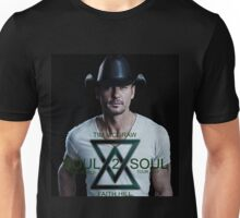 TIM MCGRAW - FAITH HILL SOUL 2 SOUL WORLD TOUR 2017 SOLO COVER Unisex T-Shirt