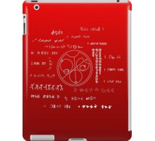 Love letter to a geek iPad Case/Skin