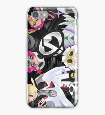 TEAM SKULL iPhone Case/Skin