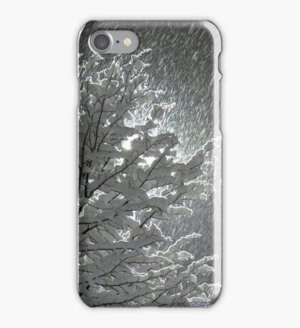 Snowy Night Lights iPhone Case/Skin