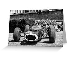 Vintage open wheel racing car #26 Greeting Card