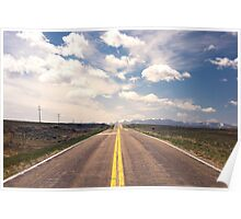 Explore New Roads Poster
