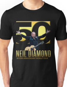 NEIL DIAMOND 50th Year Anniversary - best cover world tour 2017 Unisex T-Shirt