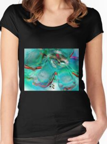 Ice Colours Women's Fitted Scoop T-Shirt