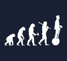 Segway Evolution for Geeks Nerds and Gadget Fans Kids Tee