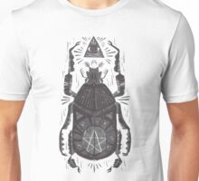 All Seeing Eye - Beetle One - grey Unisex T-Shirt